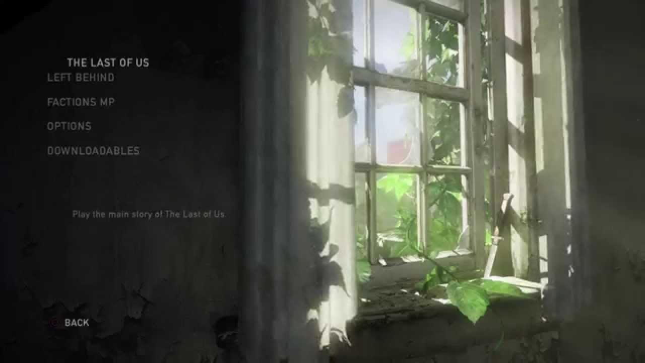 The Last Of Us New Game Plus Glitch on PS3 and PS4 YouTube