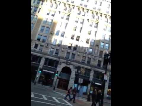Boston- old city hall & Boston tea party