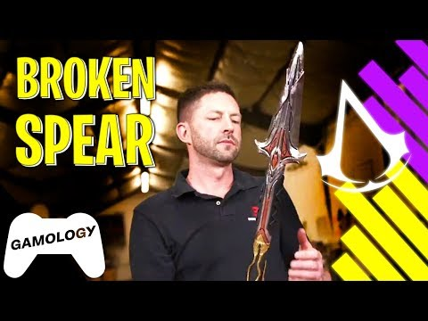 Make Your Own DIY Broken Spear From Assasin's Creed; Odyssey - Gaming Props IRL