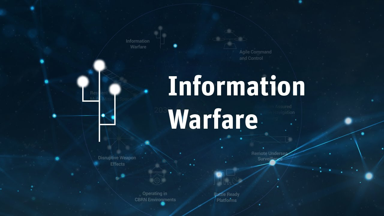 Information Warfare | STaR Shot | Defence S&T Strategy 2030 - YouTube