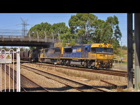 The Freight Train Capital of Australia - Newcastle & Central Coast NSW
