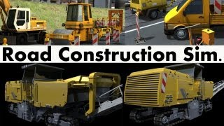 Road Construction Simulator Gameplay PC HD