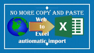 How to import data from website to excel || Excel import Web Data || Full Video||