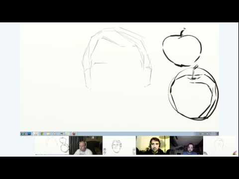Digital Painting 101 - do some drawing basics with us!