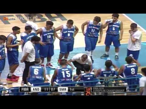 FIBA U16 | ANDORRA v SAN MARINO | GAME 2 | 23/07/16