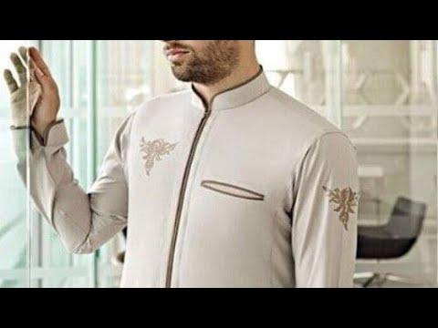 f59608106496e انواع ياقة الثوب السعودي - YouTube