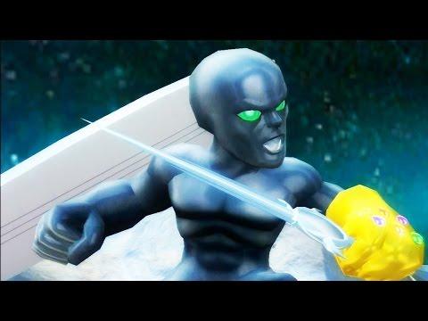 Marvel Super Hero Squad: The Infinity Gauntlet - Evil Silver Surfer