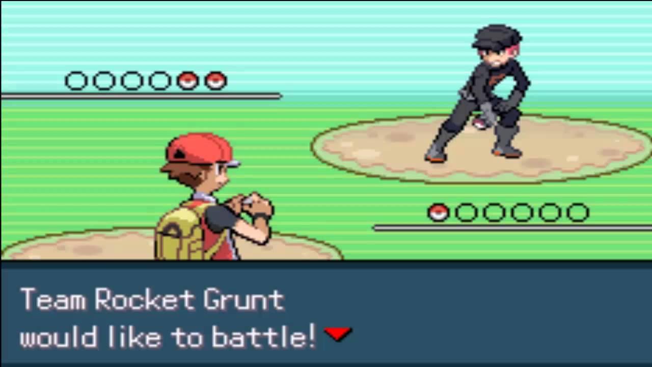 Pokemon Darkviolet Team Rocket Grunt Battle Youtube