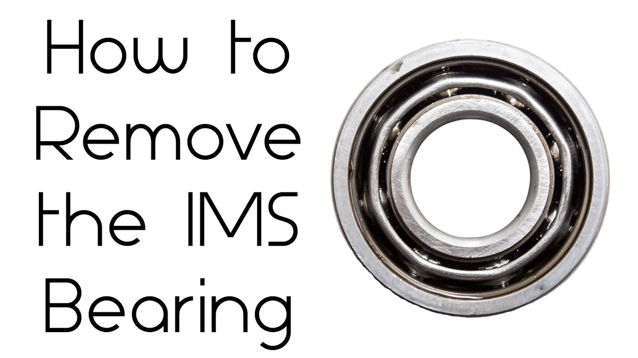 Porsche IMS Fix 7 How To Remove The IMS Bearing On A 986