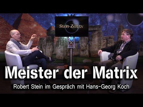 Meister der MATRIX - Hans-Georg Koch bei SteinZeit