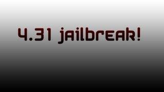 PS3 4.31 jailbreak