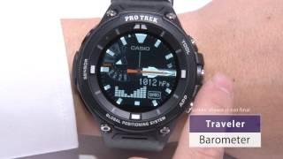 Casio At CES: Pro Trek Smart watch