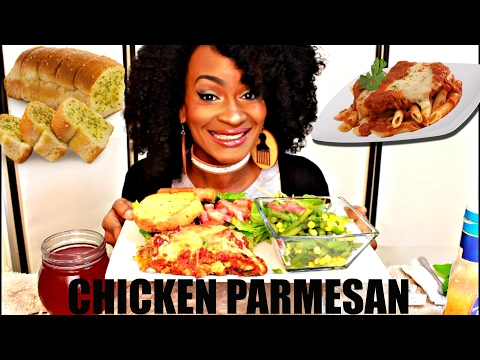"MUKBANG: DELICIOUS CHICKEN PARMESAN! JAYDEN SAID ""MOMMA''!!! YUMMYBITESTV"