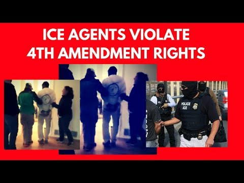 ICE agents caught Breaking Law, enter home without warrant, arrest immigrant