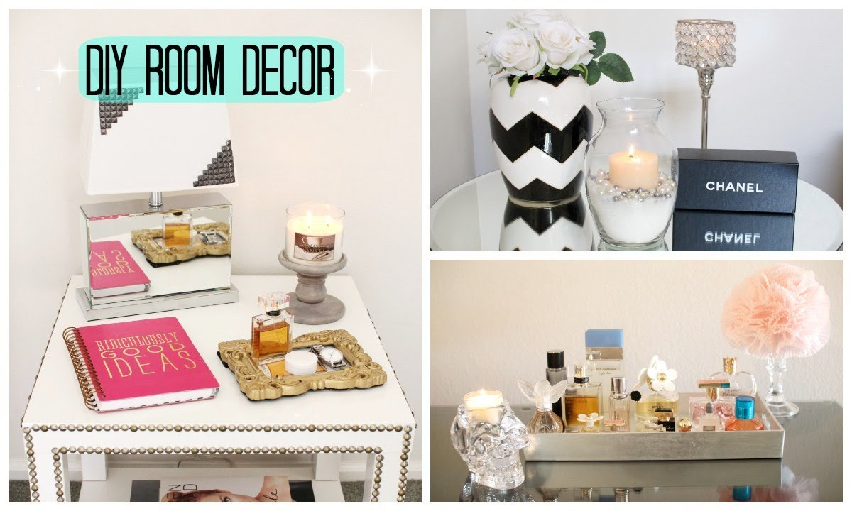 DIY Room Decor! Cute & Affordable Room Decorations - YouTube