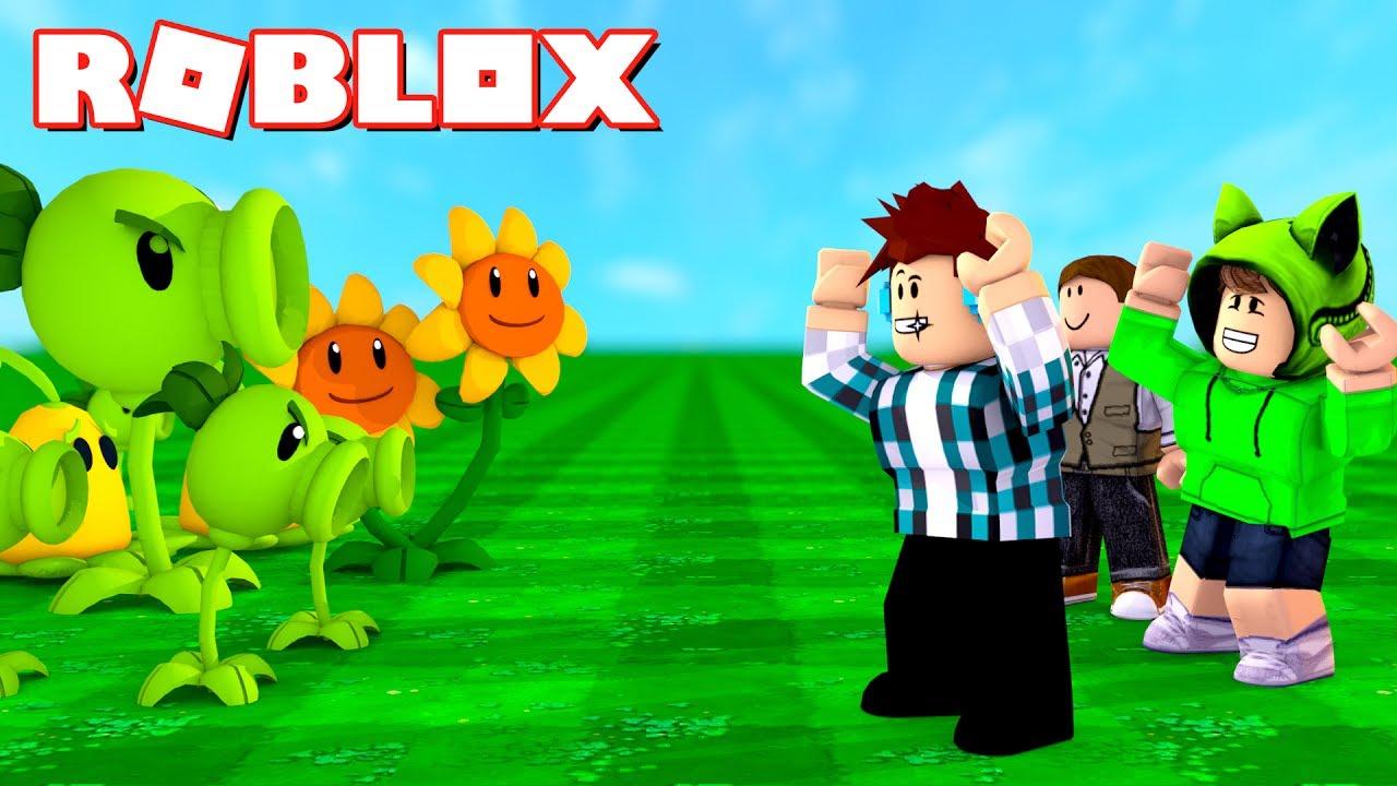 roblox plantas vs zumbis roblox plants vs zombies youtube