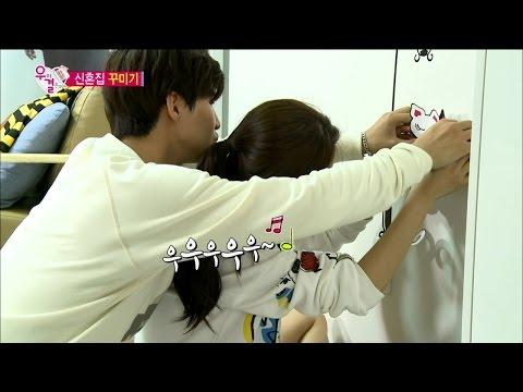 【TVPP】Song Jae Rim - Decorate marital home, 송재림 - 닭살스런(?) 신혼집 꾸미기 @ We Got Married