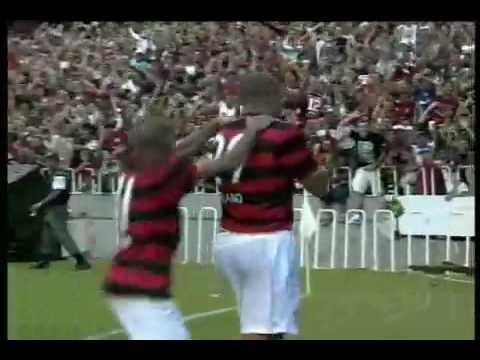 Flamengo X Atletico Paranaense (2-0) Goal Adriano Imperatore