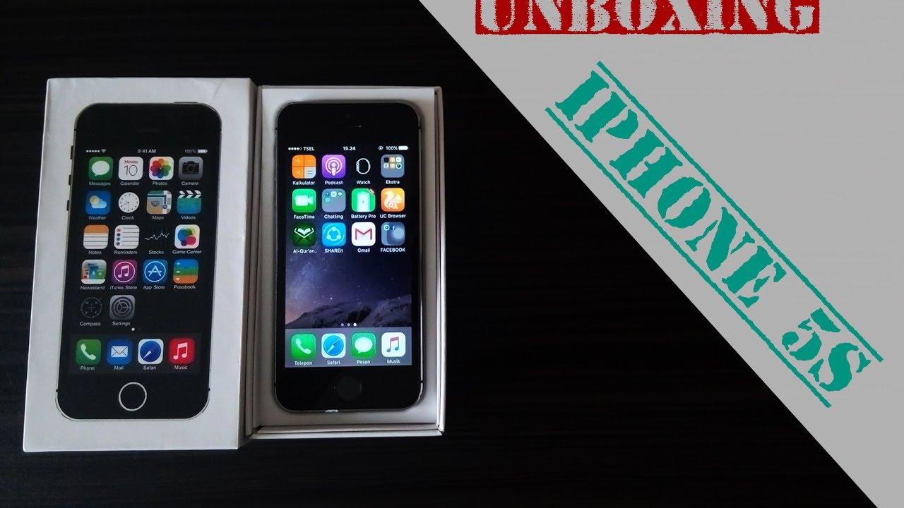 UNBOXING IPHONE 5S INDONESIA, masih layak pakai di tahun ...