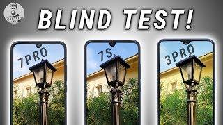 Redmi Note 7S vs 7 Pro vs Realme 3 Pro - Blind Test / Camera Comparison