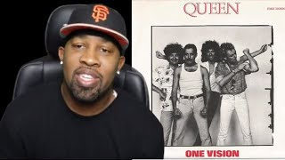 Queen - One Vision (Extended) 1985 Official Video (Reaction!!!!)