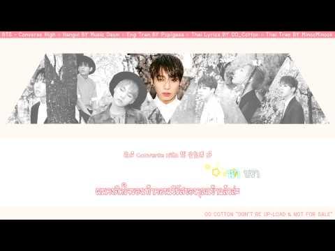 [Karaoke Thaisub] BTS (방탄소년단) - Converse High
