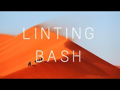 Linting Your Bash Scripts with Shellcheck