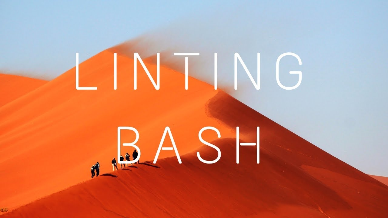 how to make and execute a bash script