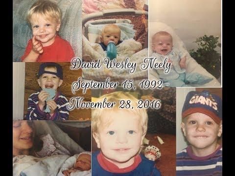 David Wesley Neely 9/15/92-11/28/16