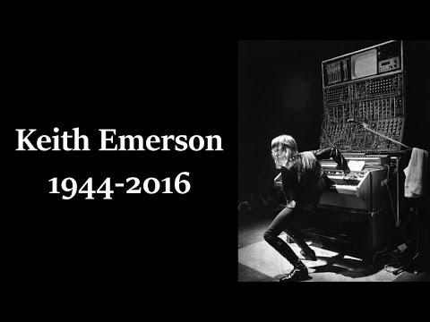 ผลการค้นหารูปภาพสำหรับ keith emerson death 1944-2016