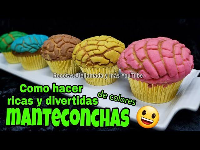 COMO HACER MANTECONCHAS | CONCHAS EN CAPACILLOS.