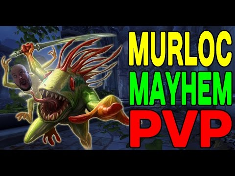 World of Warcraft LEGION: Murloc Mayhem PvP !!