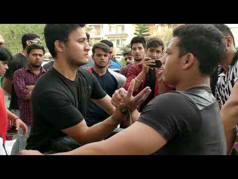 Armwrestling Rajat Bisht vs Abhishek Rawat
