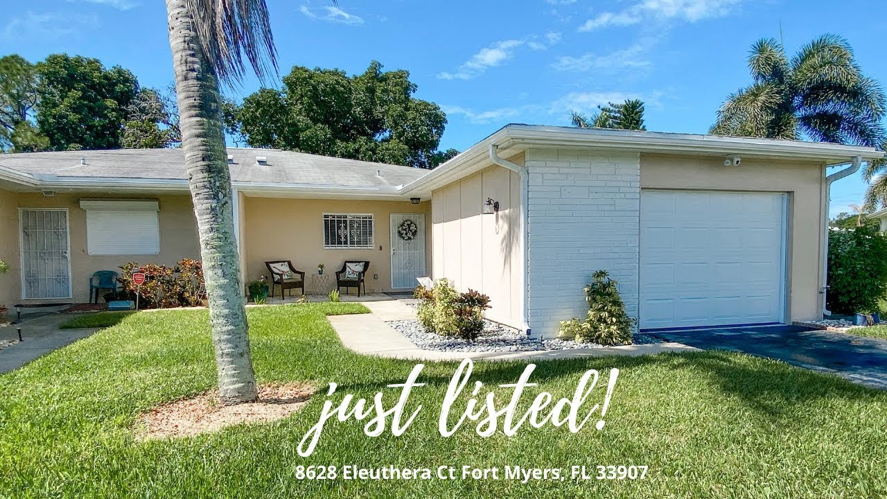 8628 Eleuthera Ct Fort Myers, FL 33907 Home For Sale
