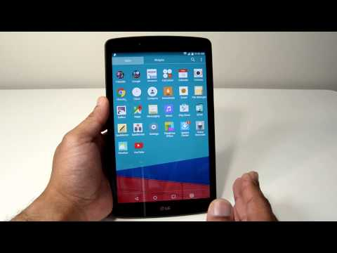 T-Mobile LG G Pad F 8 0 Unboxing and Overview - YouTube