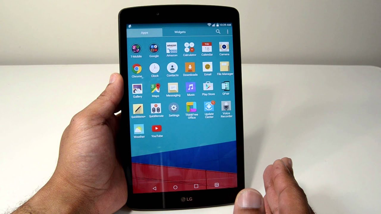 T-Mobile LG G Pad F 8 0 Unboxing and Overview