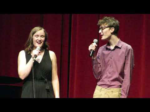 """2019 Thornapple Kellogg High School Honors Choir - """"Baby It's Cold Outside"""" (Consent version)"""