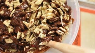 """Mexican Chocolate """"puppy Chow"""" Snack Mix Recipe"""