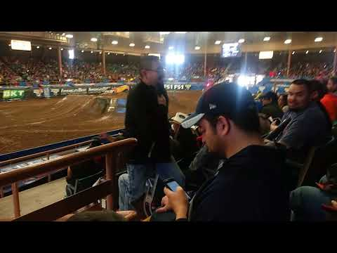 Monster Jam Albuquerque sunday Speedster obstacle racing