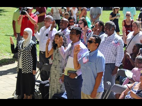 New citizens sworn in at One World Day in Cleveland Cultural Gardens