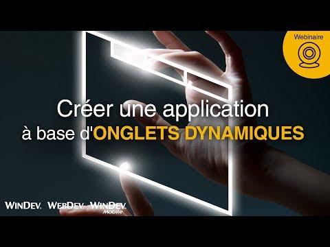 Cr�er une application � base d † onglets dynamiques
