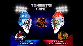 2 on 2 Open Ice Challenge ARCADE Playthrough - Colorado Avalanche vs Chicago Blackhawks