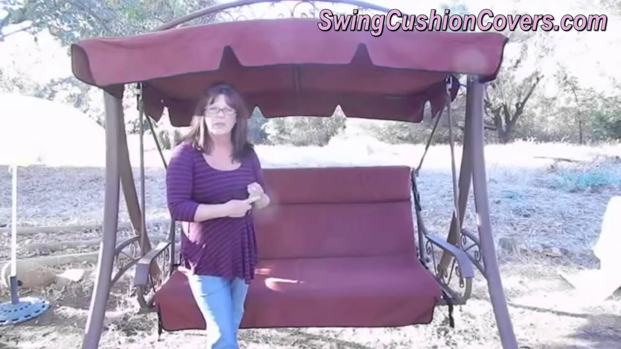 Delicieux Costco Patio Swing Canopy And Cushion Replacement