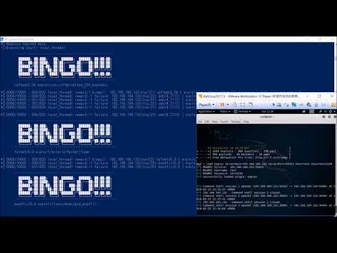 Deep Exploit (beta) Testing mode.