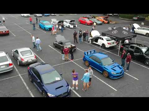 Cars and Coffee Morrisville NC September 2, 2017