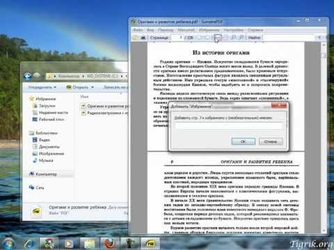 Sumatra PDF - лёгкая программа для чтения электронных книг