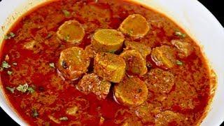इतनी स्वादिष्ट बेसन गट्टे की सब्जी जो मुँह में जाते ही घुल जाये और स्वाद भूल न पायें| Gatta ki Sabji