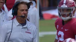 Alabama vs Louisiana-Lafayette, 2018 (in under 32 minutes)