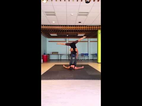 Acro Yoga Twister