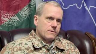 Denmark Armed Forces Chief of Staff visits NATO Training Mission - Afghanistan (Danish)